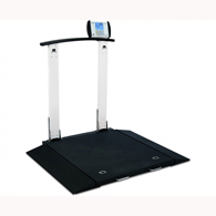 Detecto 6560 Multi-Purpose Clinical Portable Scale with Handrail