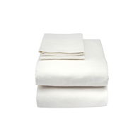 Essential Medical C3051 Fitted Bed Sheet for Hospitals-Cotton/Poly