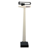 Healthometer 400KL 490 lb/210 kg Beam Scale w/ Counterweights & Wheels